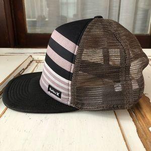 Hurley Surfer Trucker Baseball Snap Back Hat